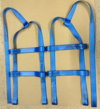 DEMCO KAR KADDY Basket Straps Tow Dolly Wheel Net LOOP END Blue USA MADE