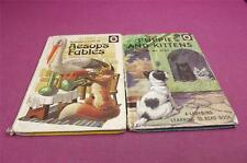 2 Vintage Ladybird books Puppies and Kittens & Aesop's Fables