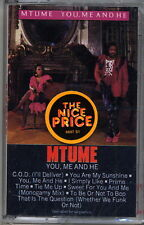 You, Me and He by Mtume (Cassette, 1984, Epic) Brand New, Factory Sealed