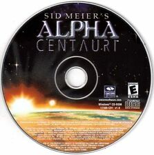 Sid Meier's Alpha Centauri  game of exploration discovery empire-building New CD
