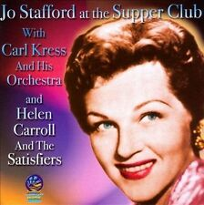 Live at the Supper Club by Jo Stafford/Carl Kress (CD, Aug-2010, Sounds of...