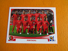 543 EQUIPE TEAM PORTUGAL PANINI FOOTBALL FIFA WORLD CUP 2010 COUPE DU MONDE