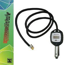 PCL Digitalanzeige Reifenhandfüllmesser PKW LKW NFZ geeicht Reifenfüllpistole