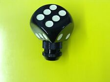 New Black Dice Stick Shift Gear Shifter Knob For Hot Rods Rat Rods Muscle Cars