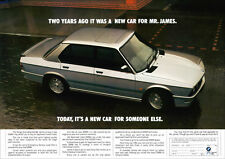 BMW E28 M5 RETRO A3 POSTER PRINT FROM CLASSIC ADVERT 1989