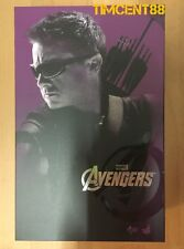 Ready! Hot Toys Marvel The Avengers Hawkeye Jeremy Renner 1/6 Figure