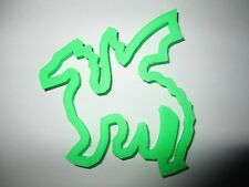 Dragon cookie cutter dough pastry biscuit fondant Wales Welsh mythical creature