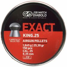 JSB Exact King Heavy Pellets .25 Air Rifle Target Shooting