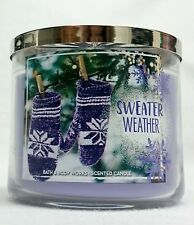 Bath & Body Works Home Sweather Weather 3-Wick Candle 14.5 oz