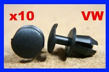 10 VW Golf touran front lamp head light washer nozzle wiper fastener clips pin