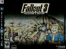 PS3 Fallout 3: Collector's Edition LUNCHBOX NEW AND SEALED