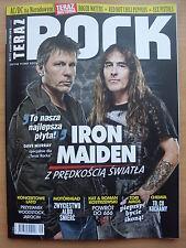 TERAZ ROCK 9/2015 IRON MAIDEN,Sex Pistols,Robert Plant,HIM,Tori Amos,AC/DC,Yes