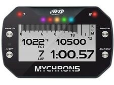 RACING GO KART MYCHRON  MC5 GAUGE GPS LAP TIMING TEMPERATURE SENSOR CHT EGT H20