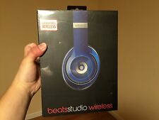 Beats by Dr. Dre Studio 2.0 Wireless Headband Headphones - Blue-New Sealed