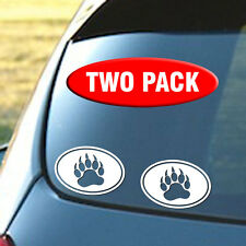 Gay Bear Paw - Cub Paw - Vinyl Sticker Decal - Your choice of color - Free S&H
