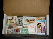 LOT17014 Worldwide (WW) Mix BOX with 1,000 STAMPS, Little to no DUPICATES