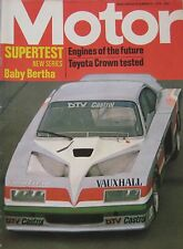 Motor magazine 13/12/1975 featuring Toyota Crown road test, Baby Bertha