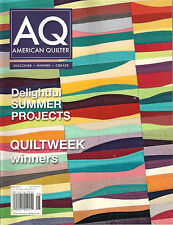 AQ AMERICAN QUILTER May 2015 DIY PROJECTs Learn Create Quilt Best Design Awards