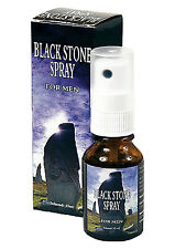 BLACKSTONE DELAY SPRAY for MEN Sex Aid LAST LONGER Erection Enhancer Black Stone