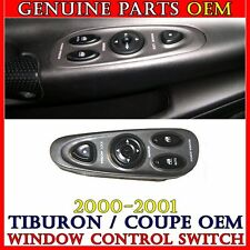 NEW OEM 00-01 HYUNDAI TIBURON MASTER POWER WINDOW CONTROL SWITCH PANEL UNIT
