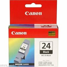 Genuine Canon Bci-24Bk Black Ink Cartridge Smartbase MP1300  Smartbase MP360