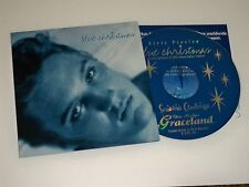 Elvis Presley  Blue Christmas 1998 Cd   Graceland Fan Club President  Promo
