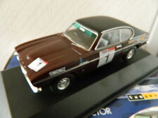 Vanguards Corgi VA13303 Ford Capri MK1 3000GT Clark and Mason Avon Tour 1973