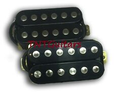Dragonfire PHAT SCREAMERS Humbucker Pickup SET (1 Bridge & 1 Neck) BLACK Set New