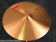 Paiste 2002 Series 18'' Medium Crash Cymbal - Excellent Used Condition