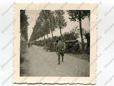 Foto, schweres Beute Geschütz bei Langemark, Belgien, (Ö), a1607