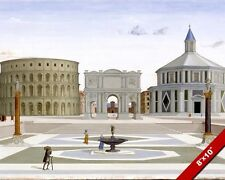 THE IDEAL CITY SECULAR, CIVIC & RELIGIOUS ROMAN THEME PAINTING ART CANVAS PRINT