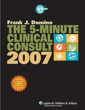 The 5-Minute Clinical Consult, 2007 (The 5-Minute Consult Series), , Good Book