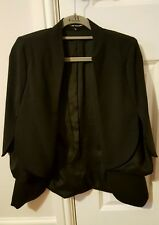 Naomi Tsukishima Black Split Sleeve Jacket