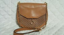 Louise et Cie 'Jael' Caramel Brown Gold Tone Shoulder Handbag  $258