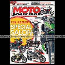 MOTO JOURNAL N°2019 ZÜNDAPP 125 RS, KAWASAKI W 800, TRIUMPH 900 SCRAMBLER 2012