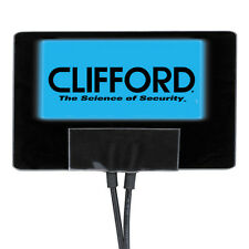 "620C CLIFFORD ELECTRO-LUMINESCENT INDICATOR Blue Flashing ""Warn Away"" Light"