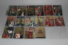 1993-94 Upper Deck behind the Glass completo conjunto con michael jordan