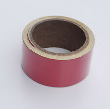 Red Reflective Tape Self-Adhesive. 10m x 50mm. High Intensity Vinyl Tape
