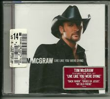 "Live Like You Were Dying by Tim McGraw (CD, Aug-2004, Curb) ""Sealed"""