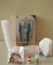 Daniell Cell Kit for Students for Age 10+, Do It Yourself (DIY) Science Kit