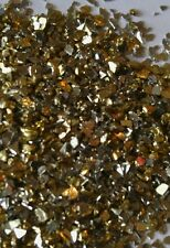 Silver and Gold Crushed Glass Chips
