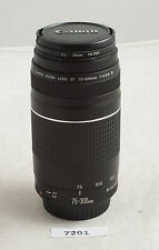Canon EF 75-300mm F/4.0-5.6 III for rebel XT XTi XS XSi T1i T2i T3i t3 5d ✺259