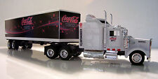 KENWORTH W900 Semi Truck Diecast 1:43 Scale Coke Zero Custom Graphics