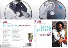 JOHNNY PACHECO - El Maestro BOX 2 CD Digipak + Booklet 28 Pag. 2006 FANIA RARE