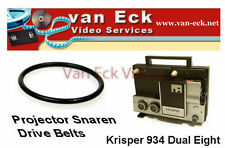 Krisper 934 Dual 8 projector snaar (motor)New belt, replacing your broken or s