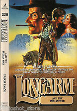 Longarm and the Indian War #220 Dakota Territory Tribes Tabor Evans 50% Off 3
