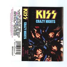 Crazy Nights by Kiss Cassette, Sep-1987 Ploygram Records