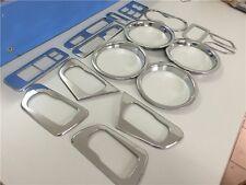 17*Chrome Interior Car Cover Trim kits decor For Nissan Qashqai Dualis 2008-2013