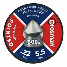 Crosman Pointed Air Rifle Pellets .22 5.5mm Airgun High Quality
