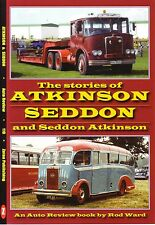 Book - Atkinson Seddon - Trucks Buses Steam Wagons Knight Borderer Pennine ENASA